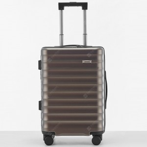 ASKEN 24 inch Mute Caster Trolley Hardside Luggage Business Password Lock Suitcase