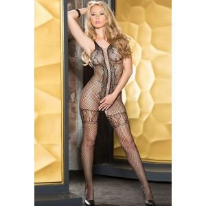 Lace Net Bodystocking