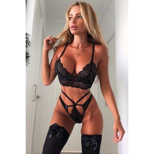Between My Lines Lace 2 Piece Set