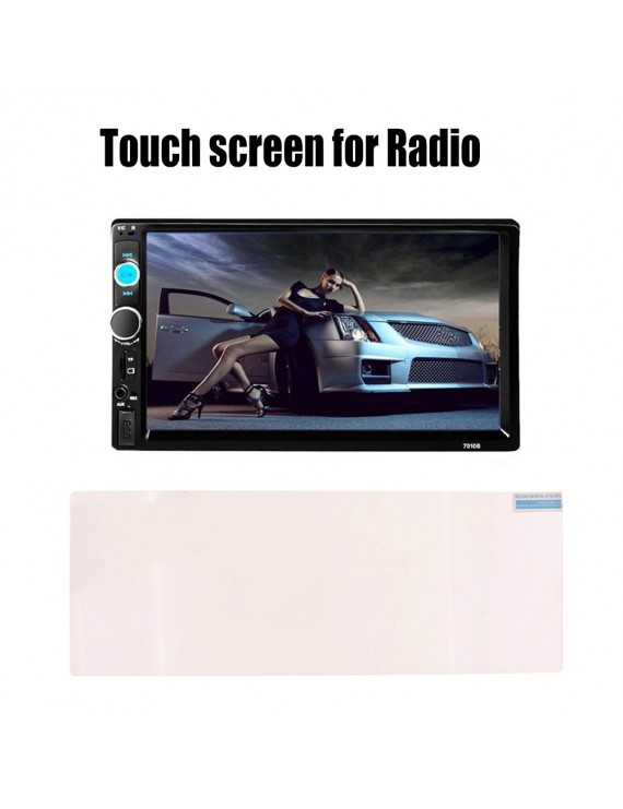 "Durable 10.2"" Bluetooth Touch Screen film For Car Radio USB TF FM FM AUX MP5 Player Remote Controller High Quality"