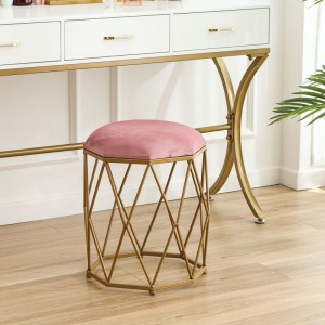 1 Piece Bedroom Dressing Stool Simple High Grade Octagonal Stool