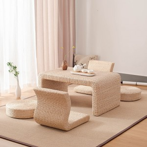 1 Piece Handwoven Tea Table Creative Round Seat Cushion