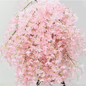 1 Piece Artificial Flower Simple Fresh Style Sweet Simulated Cherry Flowers