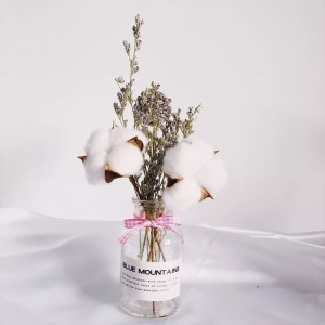 1 Set Decorative Flower Life-some Fresh Dried Flower With Bottle Kit