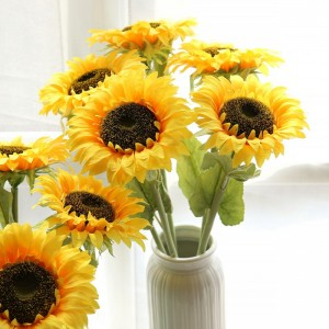 1 Piece Simulated Flower Sweet Life-Some Sunflower Design Decoration