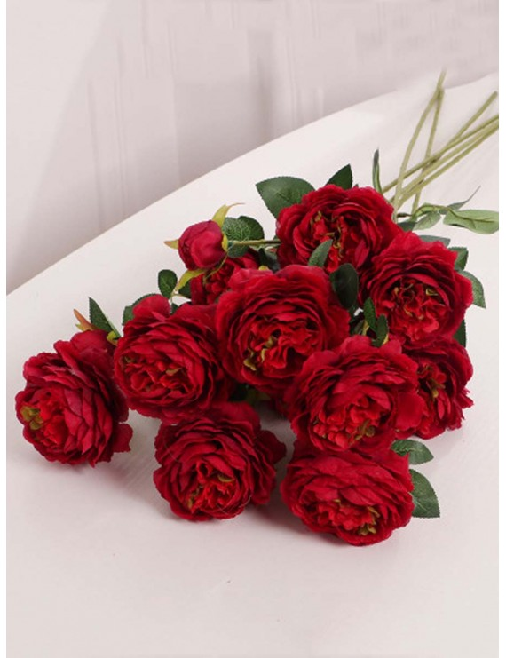 1 Pc Artificial Peony Flower Beautiful Home Decorative Simulation Flower Wedding Decoration